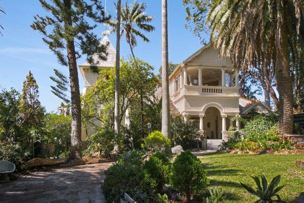 Rich family home Dawn 73 Bulkara Road bellevue Hill
