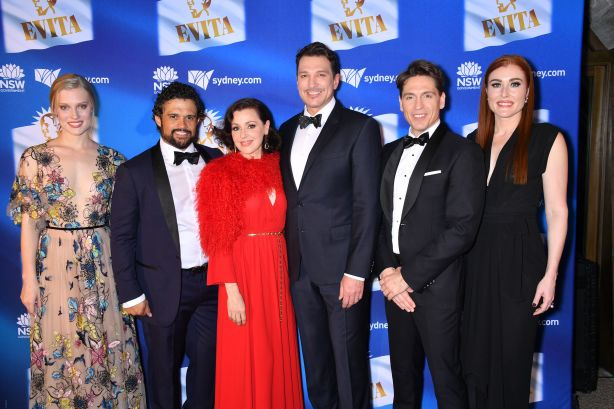 Australian Premiere EVITA Opening Night - 18.09.2018. Photo: Fiora Sacco.