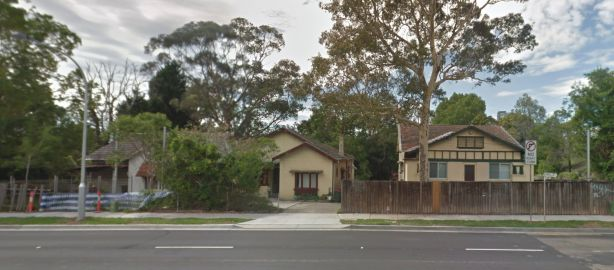 Homes on Boundary Street earmarked for redevelopment.