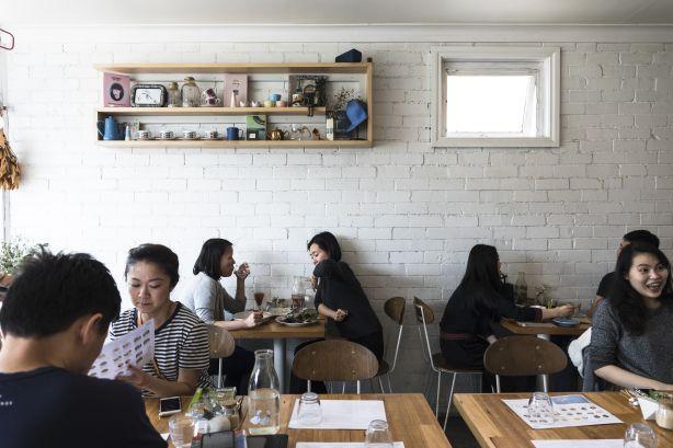 Kuu Cafe South Melbourne. Photo: Bec Dickinson.