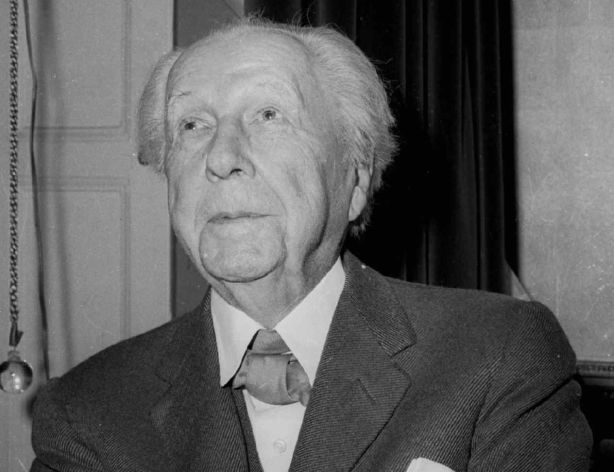 The late architect Frank Lloyd Wright