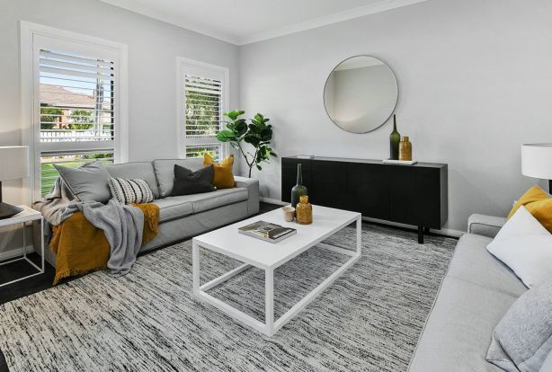 Multiple living spaces allows greater flexibility.
