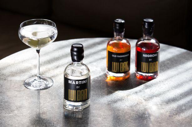 Martini Trio Lui Bar