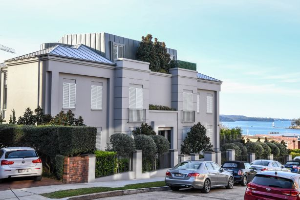 $20 Million dollar penthouse at 8 Longworth Avenue in Point Piper. Photo by Peter Rae. Thursday 30 August 2018