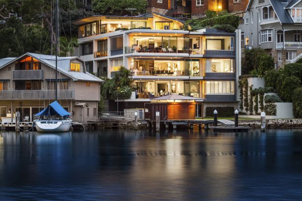 The penthouse at 1/2e Mosman Street, Mosman Bay, NSW, sold for an undisclosed price over $10 million.