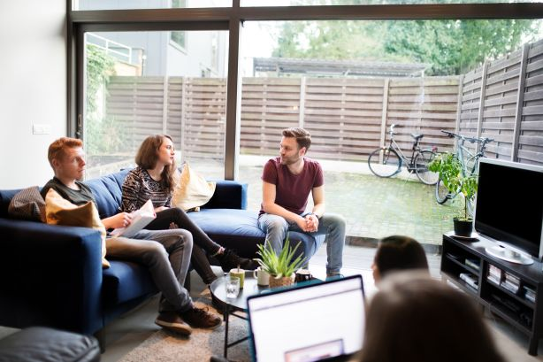 Living in a share house can save money, but it also means sharing living spaces.