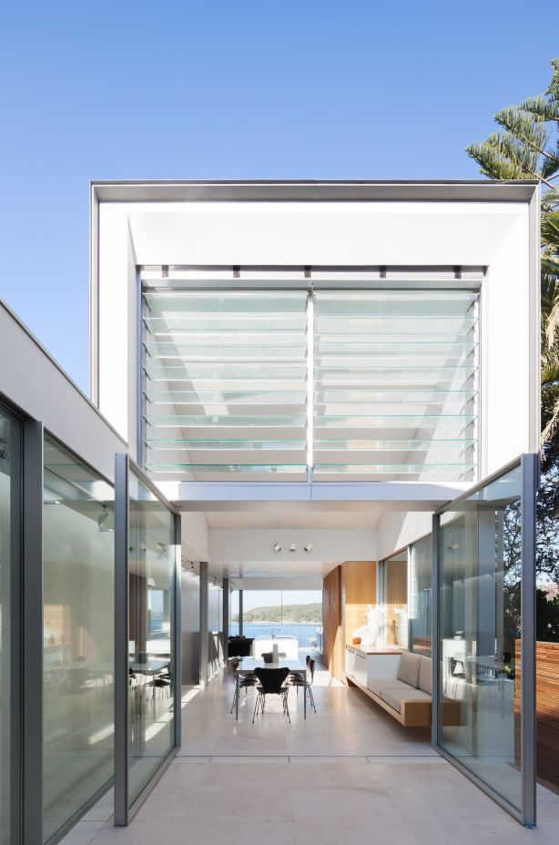 The Fairlight project by Marston Architects. For a story by Jenny Brown for Domain on improving mid-scale developments.