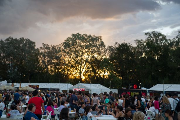 NewsGeneric photos from the Night Noodle MarketThe Canberra TimesDate: 05 March 2016 Photo Jay Cronan