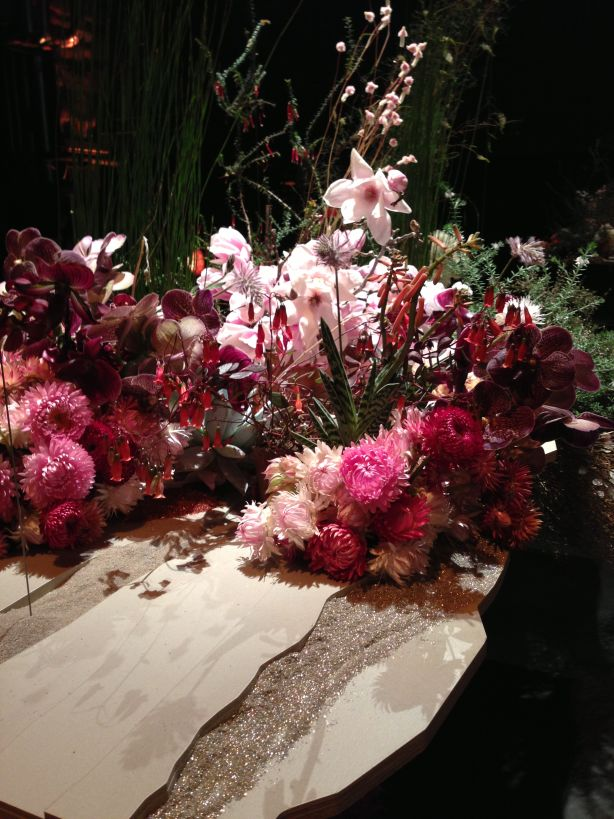 Japanese-inspired installation by Amanda Henderson with florist Fjura (Simone Gooch). Photo: Amanda Henderson