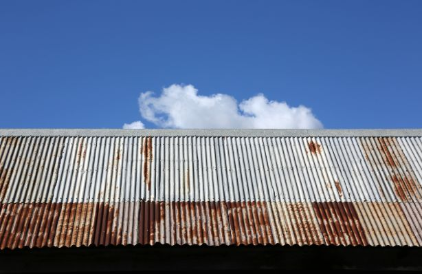 Recent trends towards rustic and recycled materials has increased demand for rusted metal roofing.