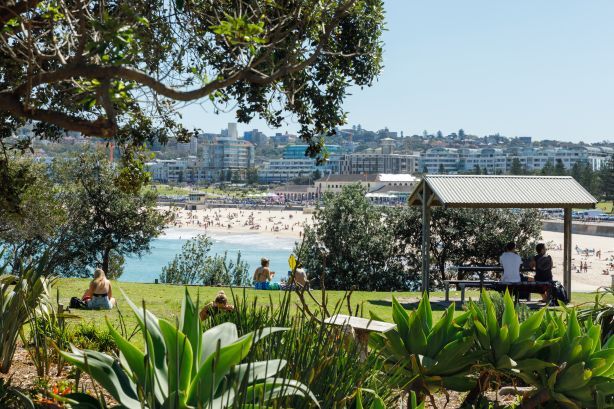 The Sydney suburb of North Bondi