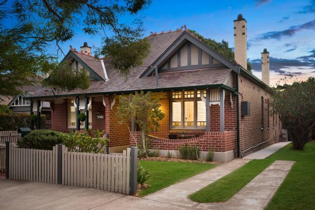 The two-bedroom semi-detached house at 10 boomerang Street, Haberfield, NSW, sold for $1.73 million.