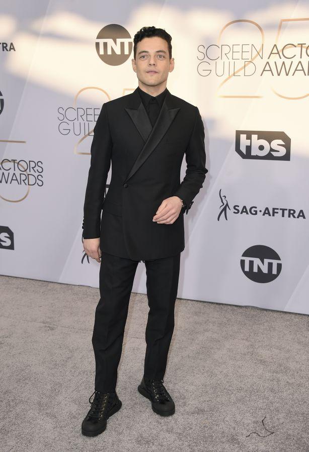 Rami Malek at the 25th annual Screen Actors Guild Awards. Photo: Jordan Strauss.