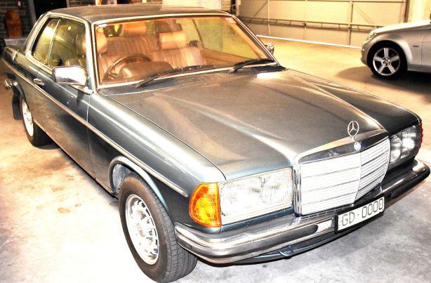 Gavan Disney's Mercedes Benz