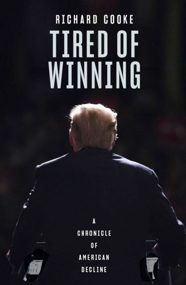Tired of Winning by Richard Cooke. Photo: Black inc Books