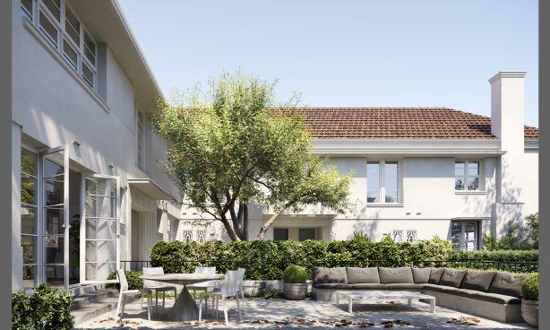 The Botanic Collection. Martin House, 216 - 218 Domain Road, South Yarra. Architect: Rob Mills Architects and Powell & Glenn.  Developer: Sadikay Group