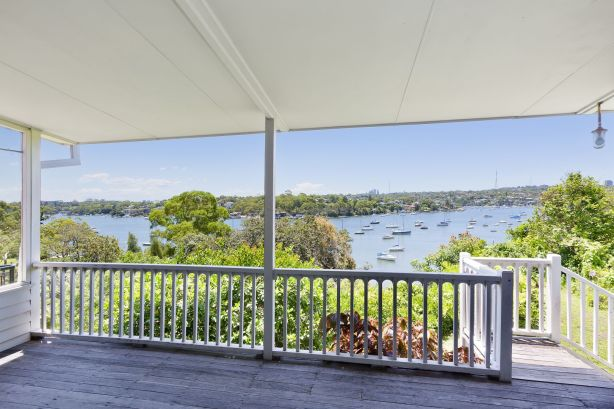 The four-bedroom home, at 82 Woolwich Road, with views of the Lane Cove River and the Longueville peninsula rocketed about $400,000 above reserve.