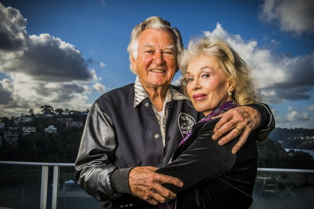 Bob Hawke and Blanche d'Alpuget married in 1996.