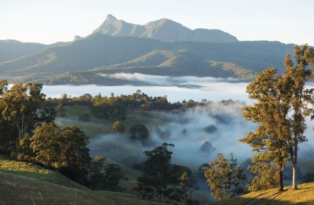 Mount Warning in the Tweed Range, Tweed Heads