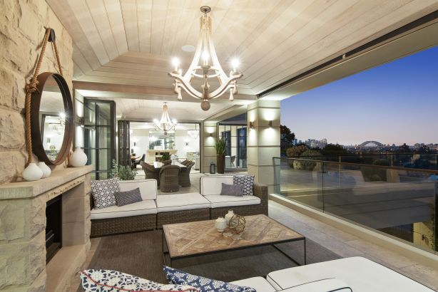 The Susan Rothwell-designed residence is set on 1700 square metres.