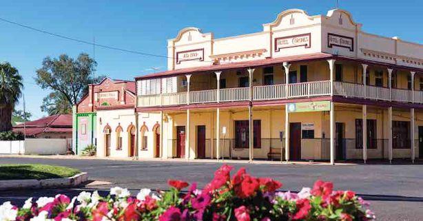 The Hotel Corones.