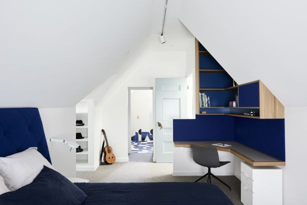 Attic Magic by Windust Architecture x Interiors  Photographer: Eve Wilson  Builder: APC Build  Stylist: Origami Solutions