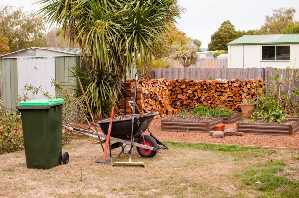 If you're accustomed to compact city living, be prepared for more time spent on yard work.