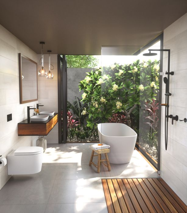 Garden Bathroom by Caroma. Photo: Supplied.