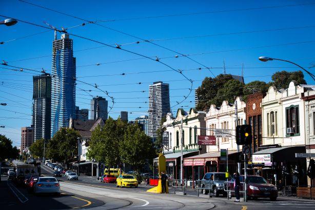 Victoria Street  in North Melbourne.