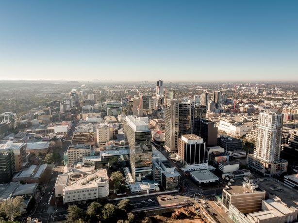 Parramatta-aerial