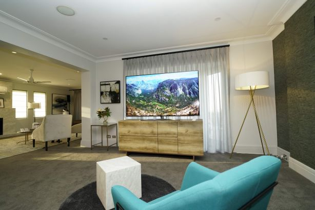 The 8K television from LG