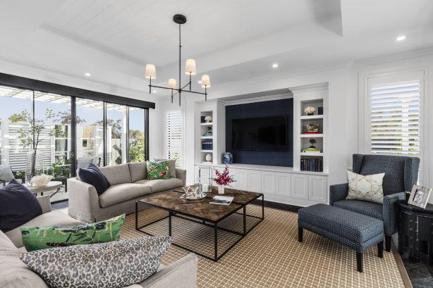 Hamptons style residences at Spring Farm by Rawson Homes