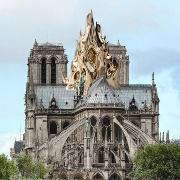 Image result for notre dame paris: restoration Mathieu Lehanneur