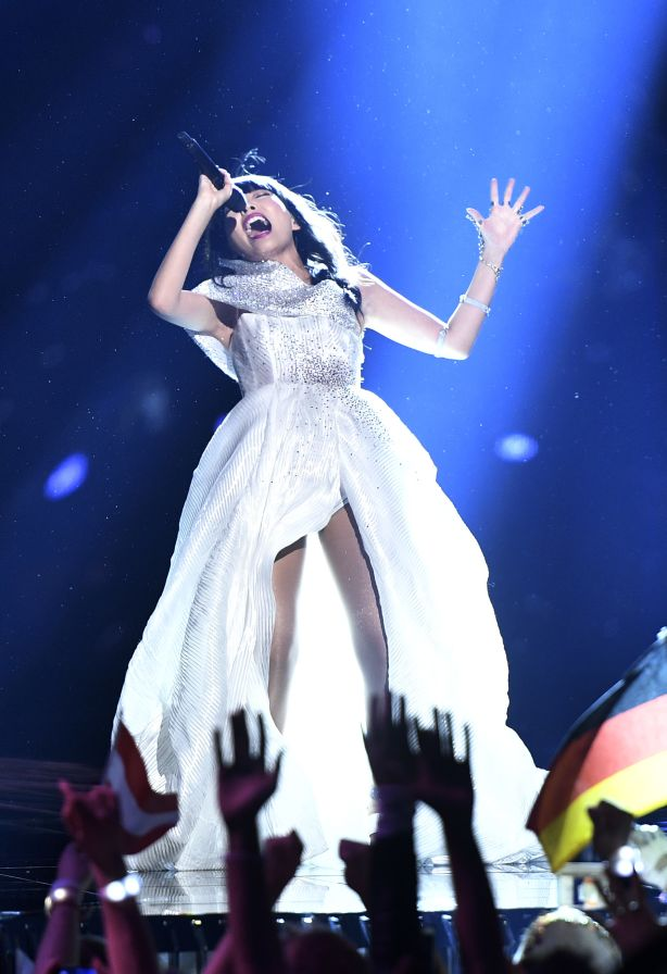 Dami Im at Eurovision.