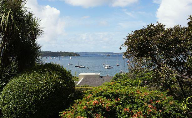 The harbour at Elizabeth Bay in Sydney