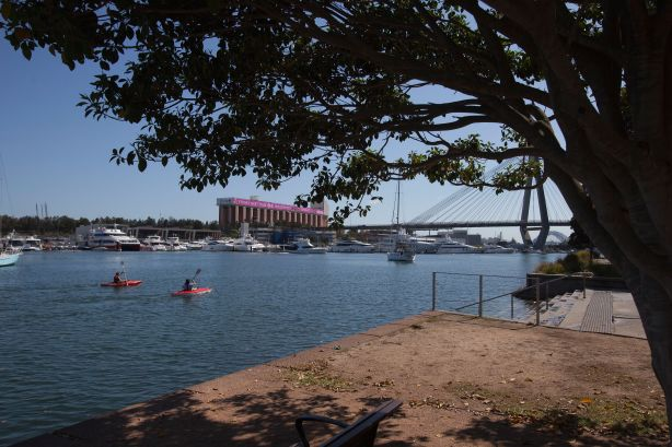Glebe Foreshore walk in Sydney