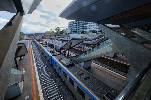 North Melbourne Train Station