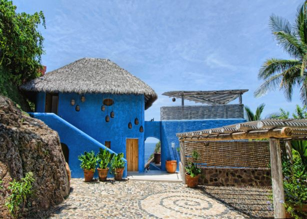 Villa Nido de Amor in Costa Careyes, Mexico