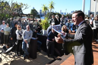 Annandale home sells more than $1m above reserve at auction