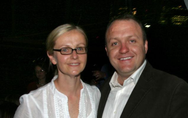 Stuart and Sally Gregor