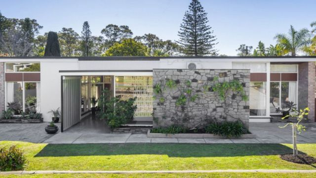Rare buy: Brutalist home listed for first time in six decades