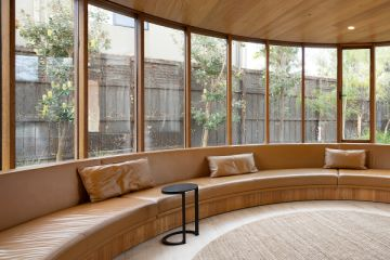 Curve appeal: The house that declares 'look at me'