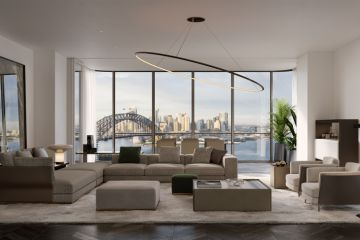 A $7.1 million apartment in Sydney's Milsons Point is among the latest luxury off-the-plan sales