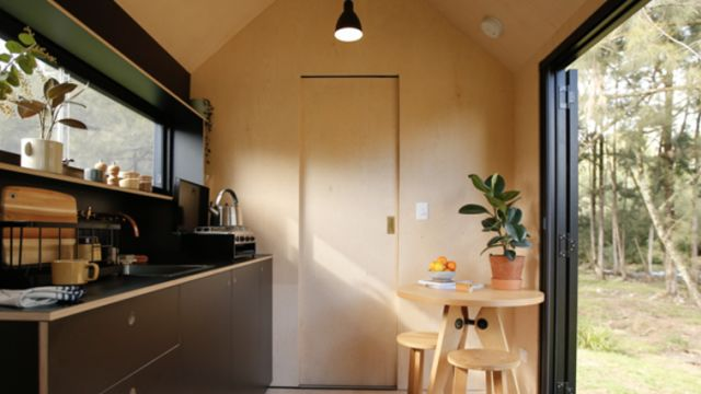 Get off the grid: Switch off and unwind in this isolated tiny house