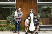 The family of five who made a mid-century house their forever home