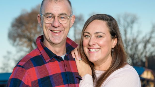 'It's a footy love story': At home with Andy Maher and Emma Race