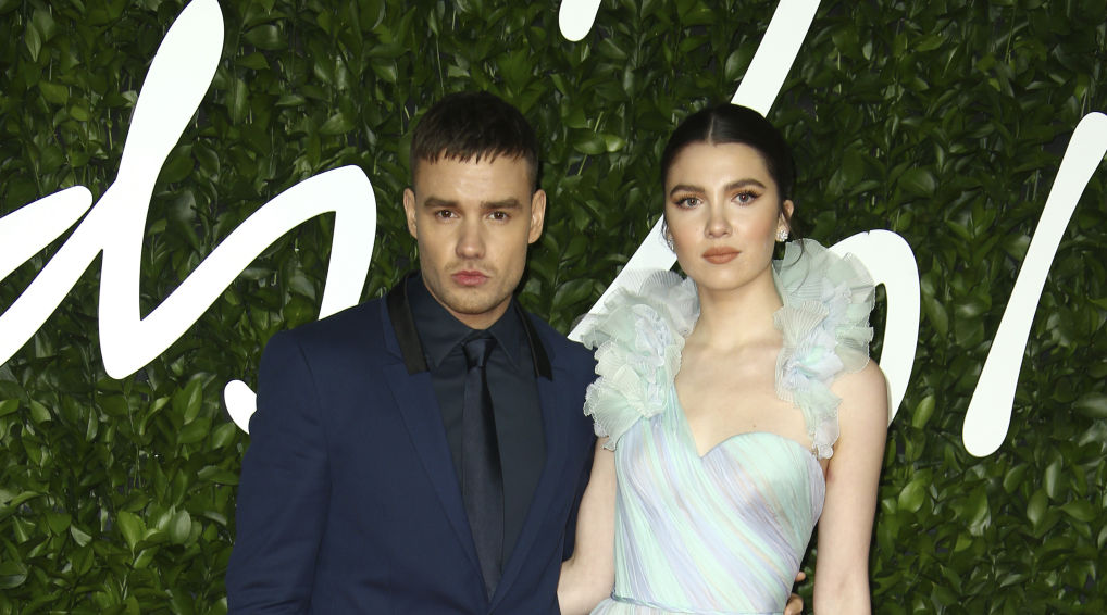 Singer Liam Payne, left, and Maya Henry pose for photographers upon arrival at the British Fashion Awards in central London, Monday, Dec. 2, 2019. (Photo by Joel C Ryan/Invision/AP)