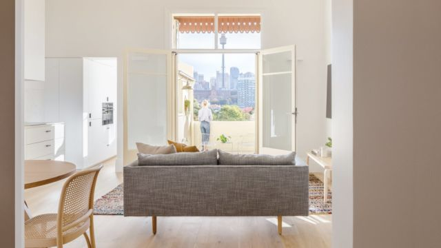 How a 'dingy' Potts Point basement was transformed into a pied-a-terre