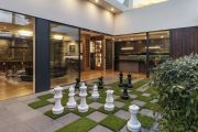 Yarralumla residence for sale complete with giant outdoor chessboard and secret door