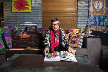At home with renowned fashion designer Jenny Kee